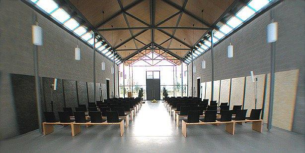 2004, Trauerhalle Hochheim · 2004, exhibt funeral hall in hochheim, germany