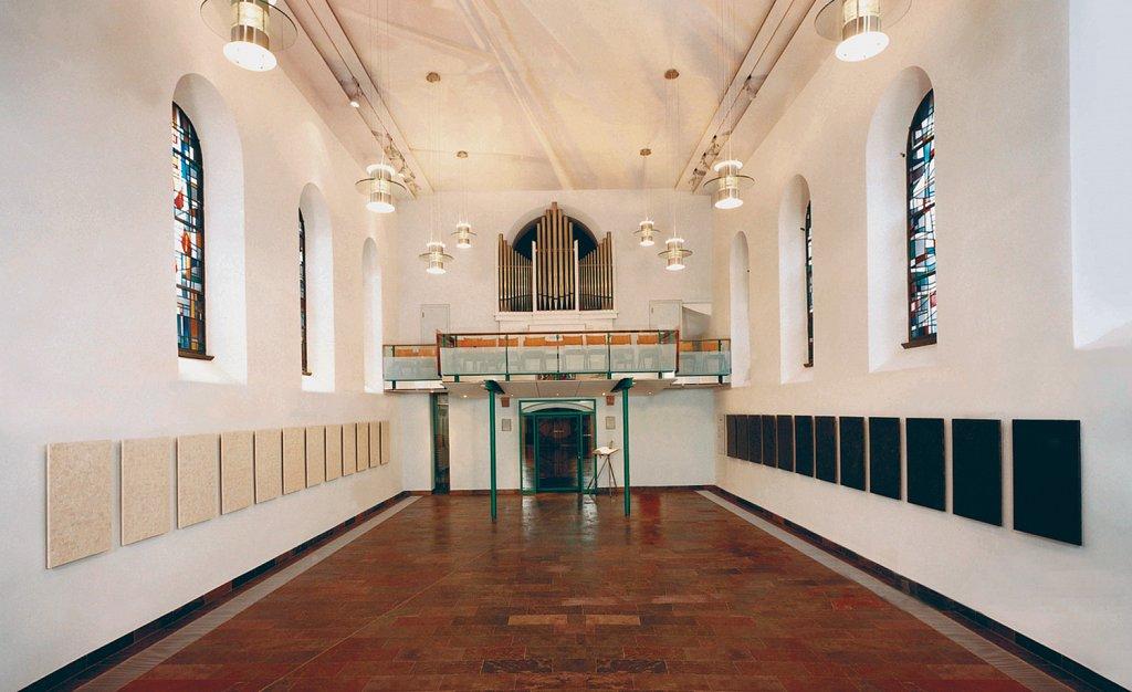 2001, Ev. Kirche, Hochheim · 2001, protestant church, Hochheim