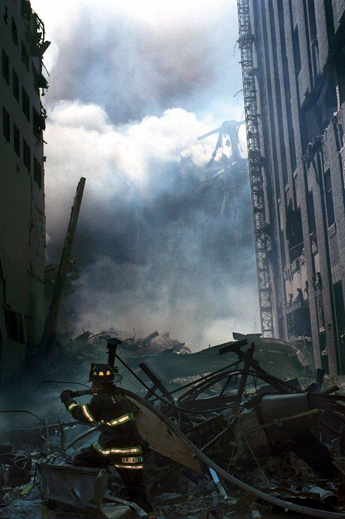 © Harry Zerinke, World Trade Center Attacks of September 11, 2001