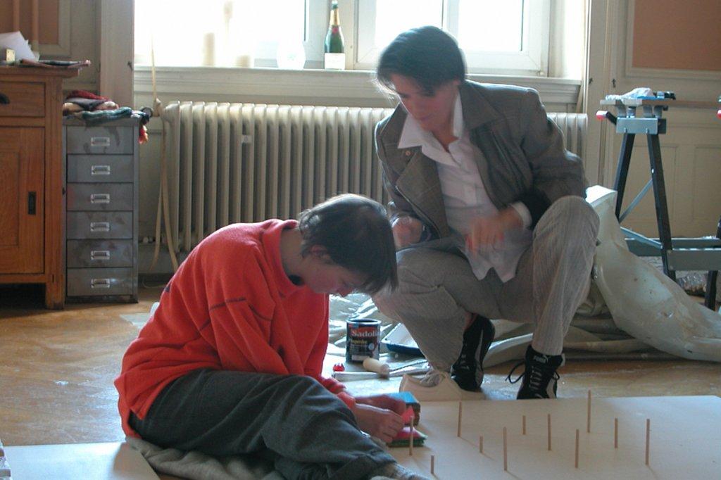 Im Atelier, 2003