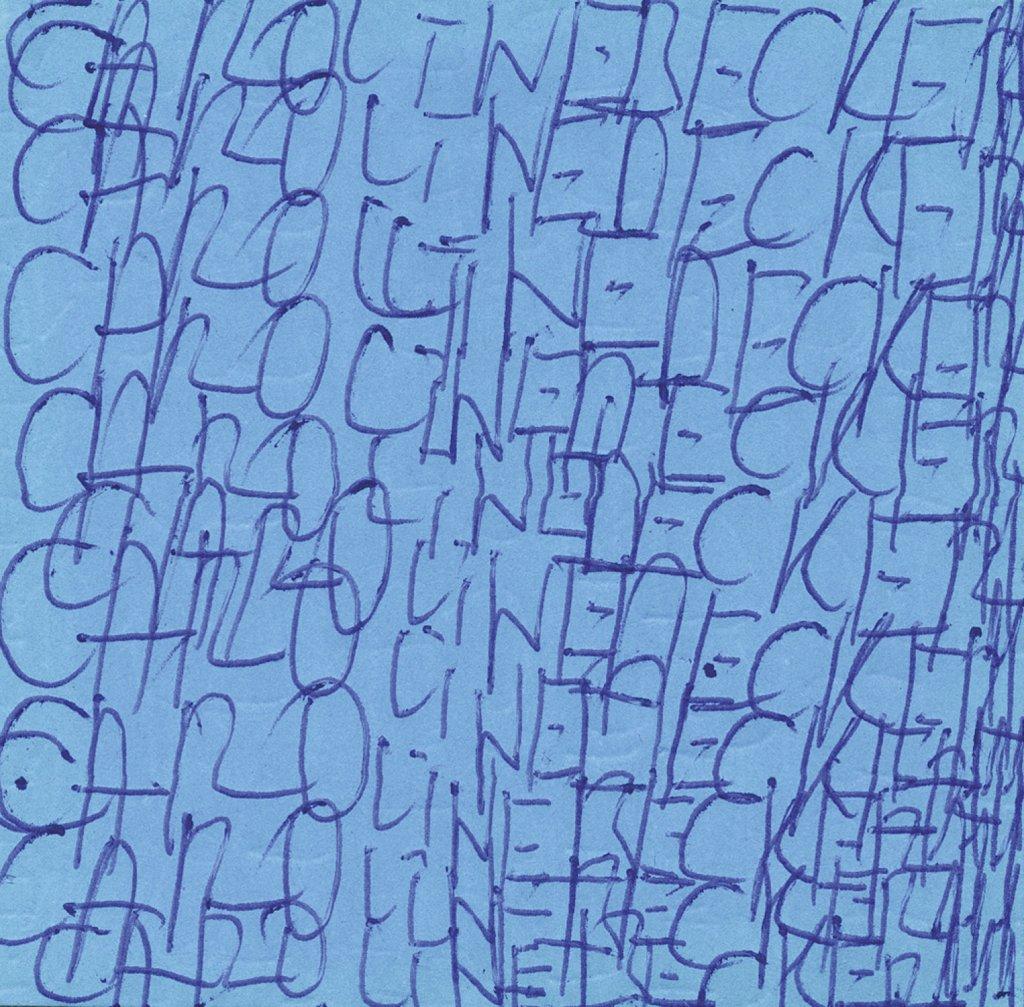 Zettel von Caroline Becker · slip of paper form Caroline Becker