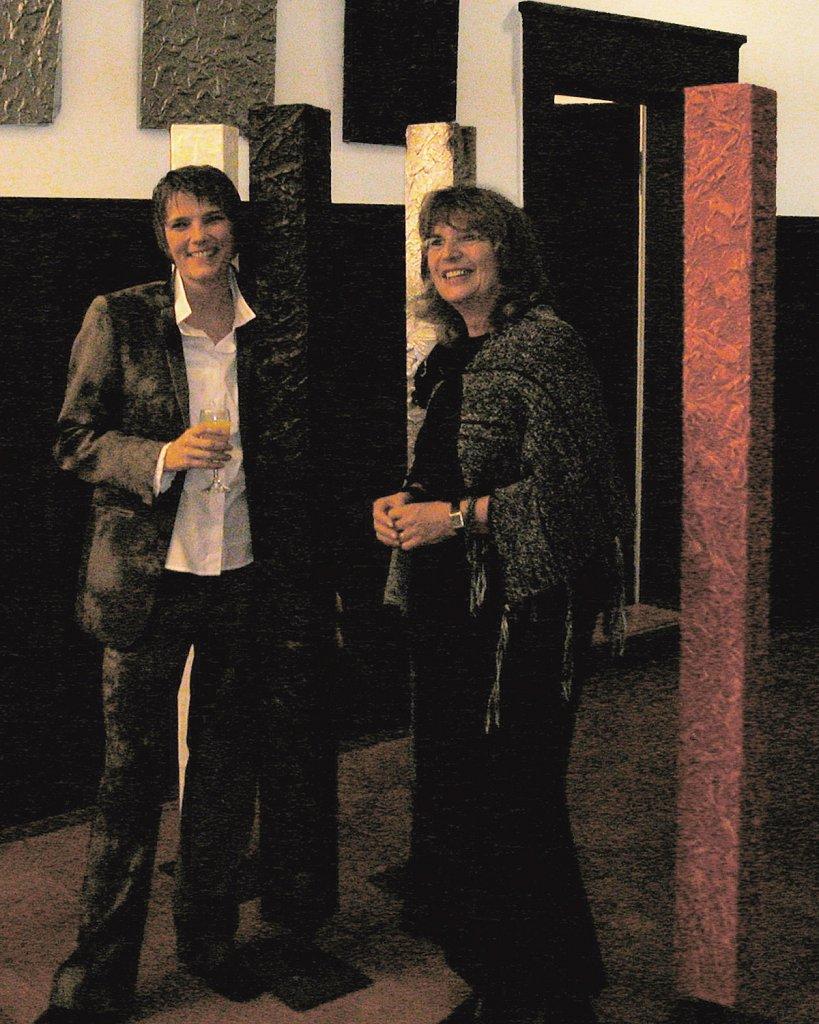 Ausstellung · exhibit, Helm-Stierlin-Institut in Heidelberg, 2003