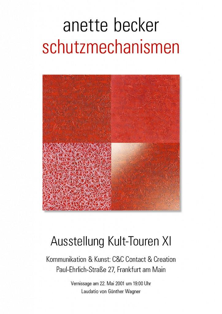 Plakat der Ausstellung / 2001
